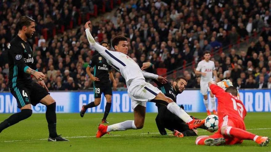 Dele Alli tumba al Madrid en Wembley