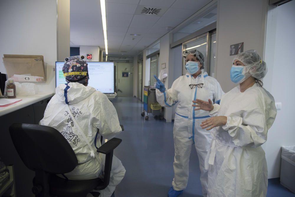 Una mirada als escenaris de Sant Joan de Déu transformats per la pandèmia