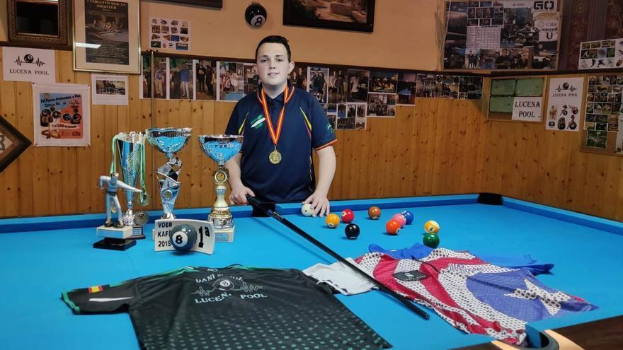 El lucentino Daniel Muñoz se proclama campeón de España de billar americano