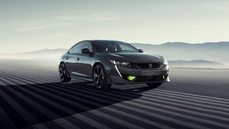 Nuevo concept-car 508 Engineered by Peugeot Sport: Zarpazo eléctrico