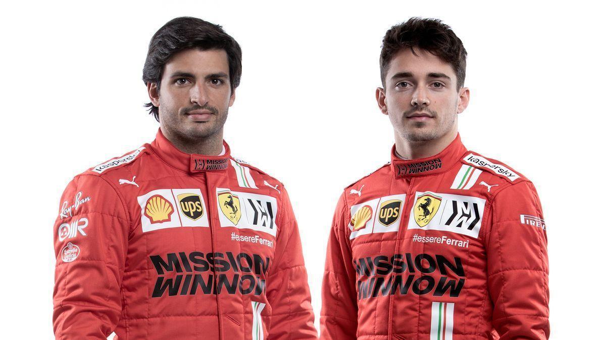 Sainz muestra su optimismo al presentarse con Ferrari