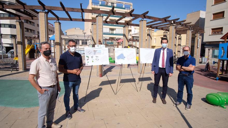 La reforma de la plaza del Zapatero de Elda transformará 6.000 metros del centro urbano