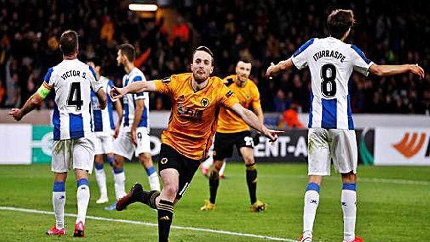 L'Espanyol naufraga a Wolverhampton  i queda a la vora de l'eliminació europea