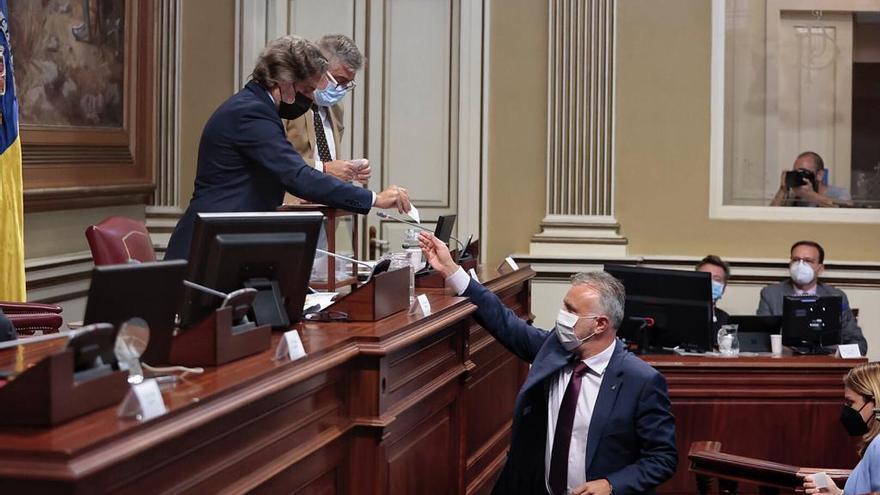 Votación para la Junta de Control de la RTVC en el Parlamento de Canarias