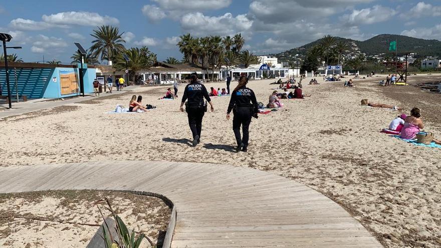 155 denuncias en Ibiza por incumplir la normativa sanitaria durante el fin de semana