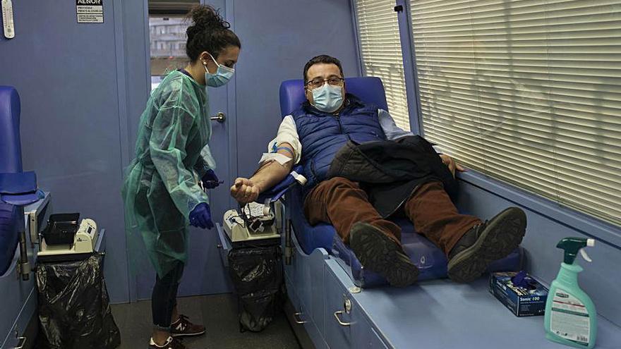 El banco regional de sangre lanza un SOS a los zamoranos para la donación de sangre