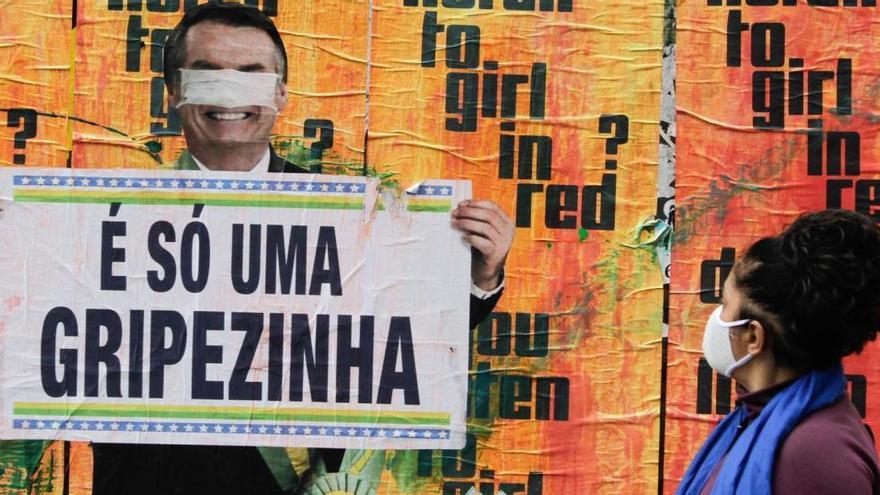 Bolsonaro dice que la vacuna no será obligatoria en Brasil