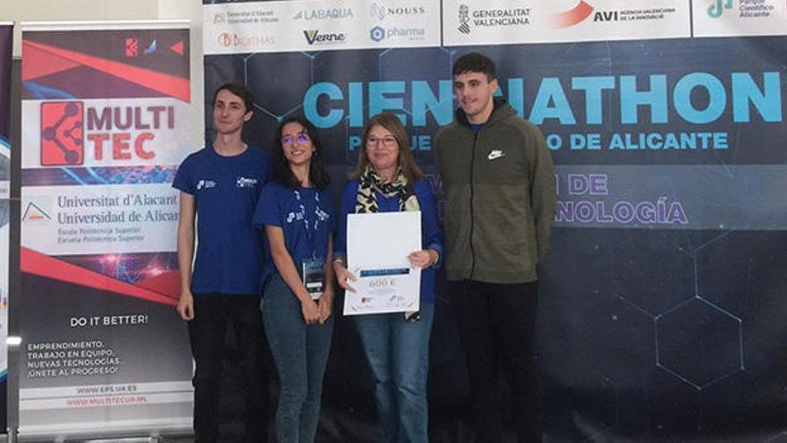 Una eina per a aconseguir voluntaris que participen en assajos clínics guanya el primer Cienciathon de la UA