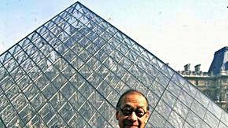 Fallece a los 102 años Ieoh Ming Pei, arquitecto de la pirámide del Louvre