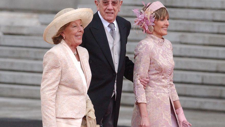 Menchu Álvarez del Valle protagonizó el momento más emotivo en la boda de Felipe VI y doña Letizia