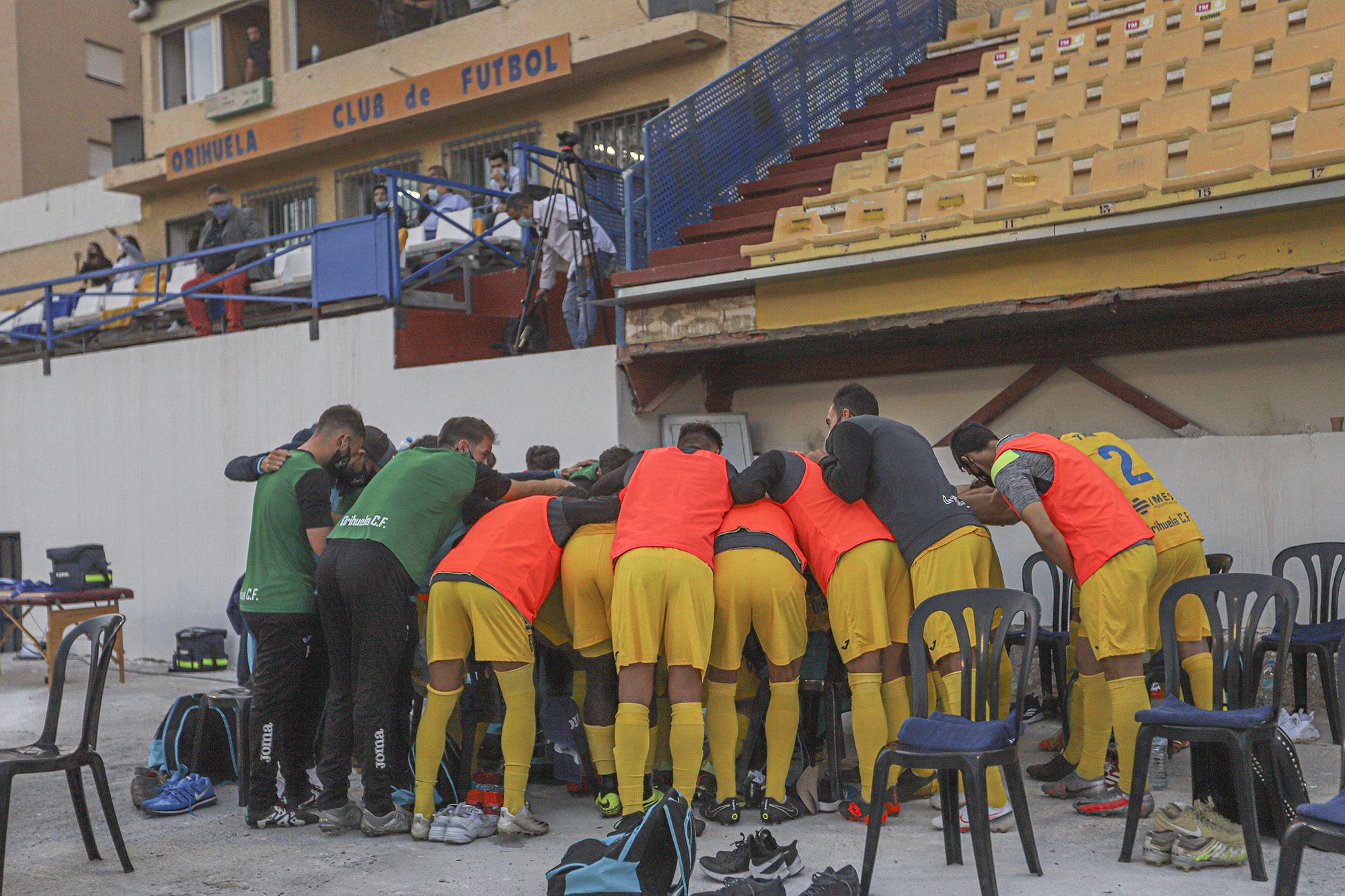 Orihuela-Alcoyano (0-0):  Sin pólvora en Los Arcos