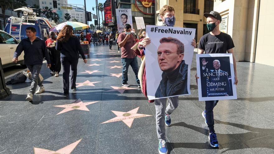 Navalny: Detenido por negarse a morir