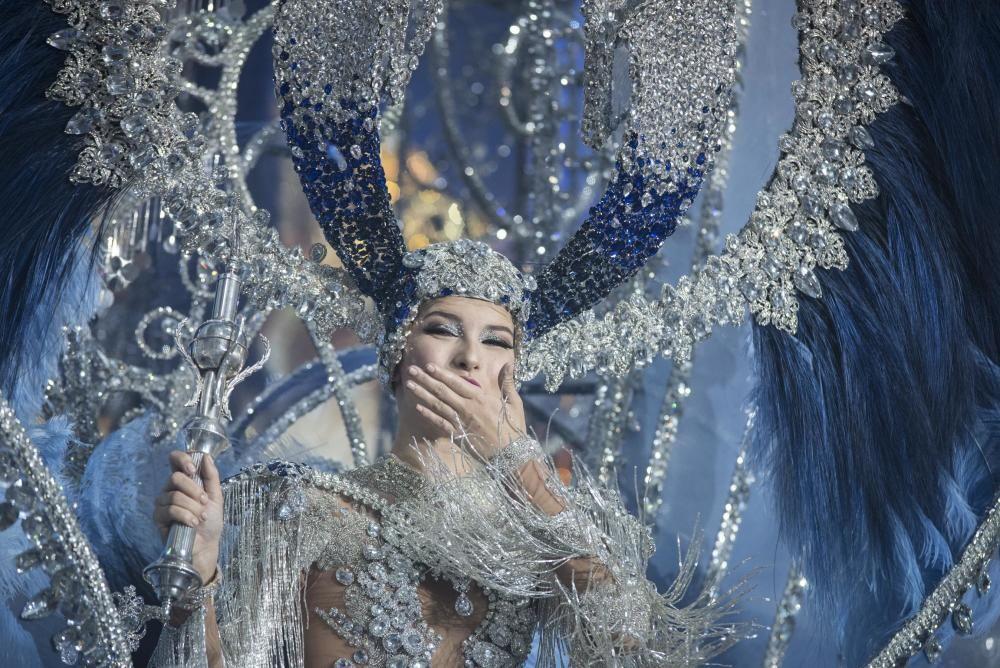 Sara Cruz, reina del Carnaval de Santa Cruz de Tenerife 2020