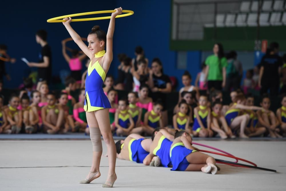 750 gimnastas en un trofeo solidario en A Coruña