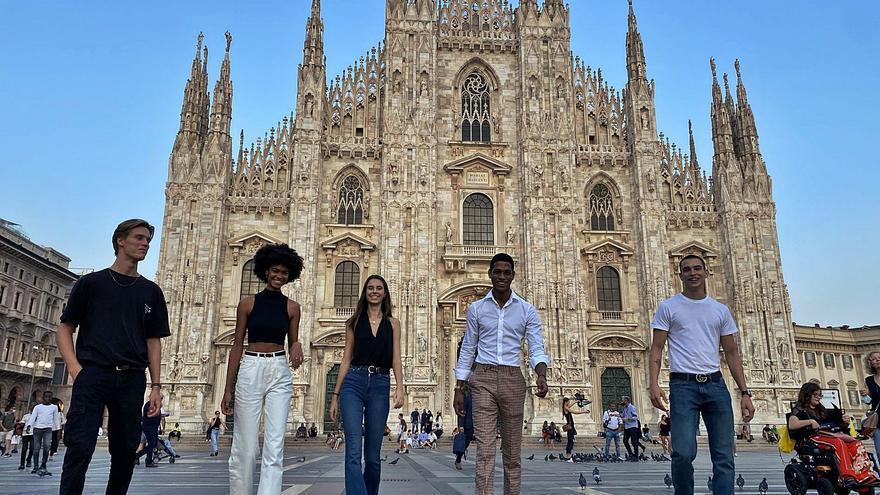 Milán se refuerza con belleza canaria