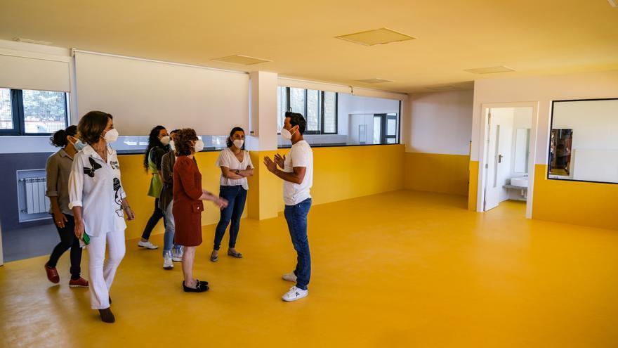 Concluye la obra de ampliación del colegio Cerro de Reyes