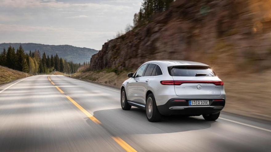 Mercedes-Benz EQC 2019: el primer vehículo 100% eléctrico de la firma