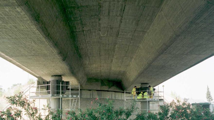 Aplazados los cortes del puente de la CV-36 sobre el baipás y el del acceso al Parque Tecnológico de Paterna