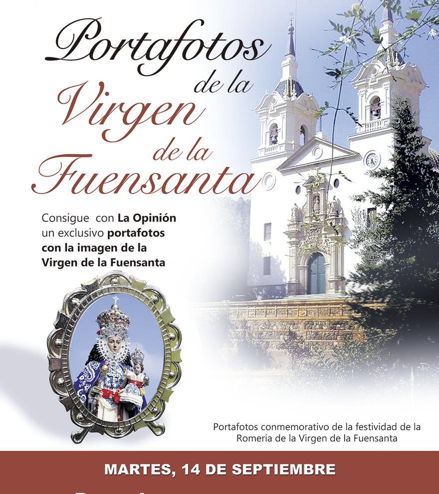 Portafotos de la Virgen de la Fuensanta