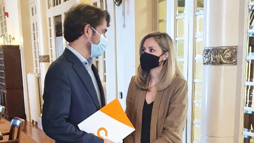 Ciudadanos aparta definitivamente de la portavocía a su candidato Pérez-Ribas