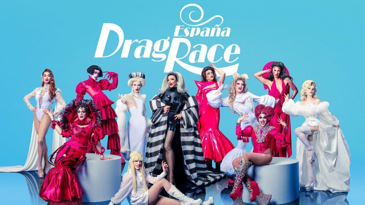Concursantes de 'Drag race España'.