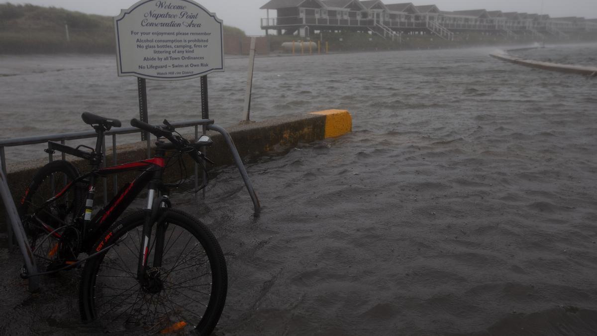 Imagen de archivo de una inundación.