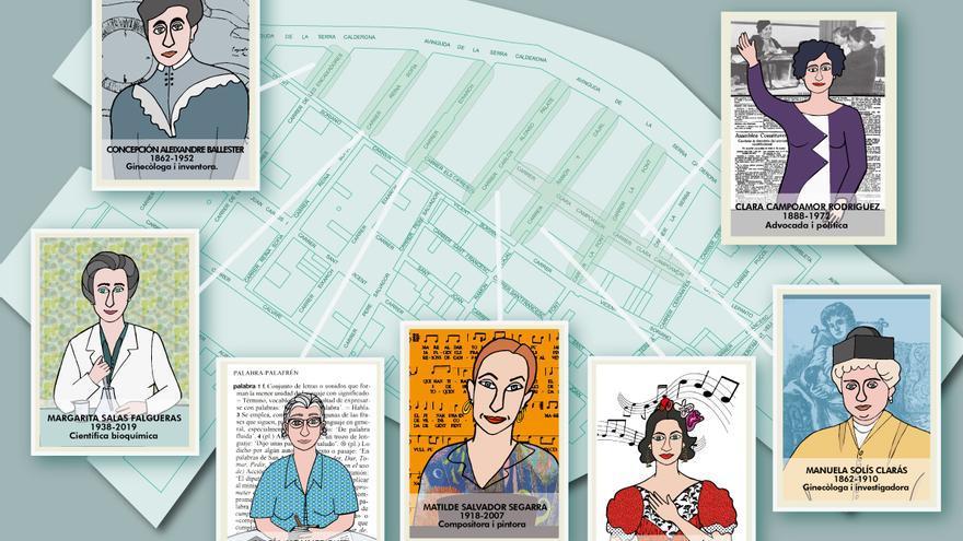 Rafelbunyol dedica seis calles a mujeres relevantes