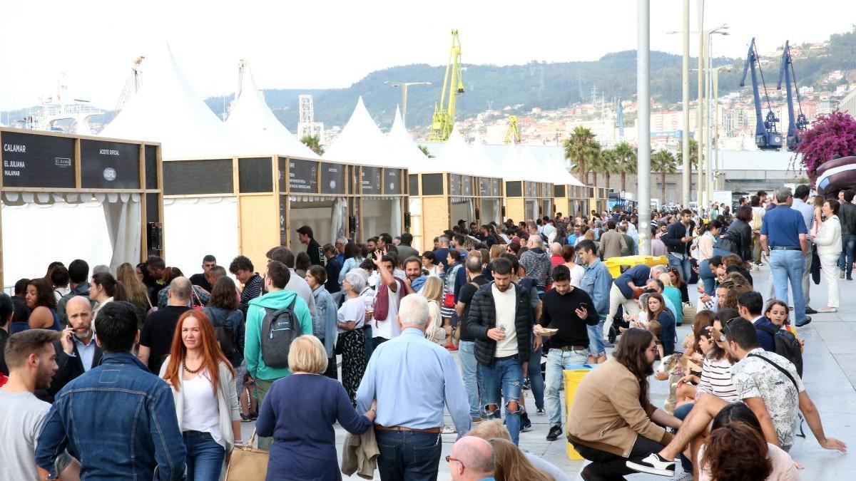 La última edición del Vigo Seafest. // Marta G. Brea