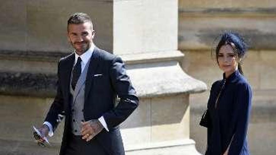Los Beckham donan sus mejores galas