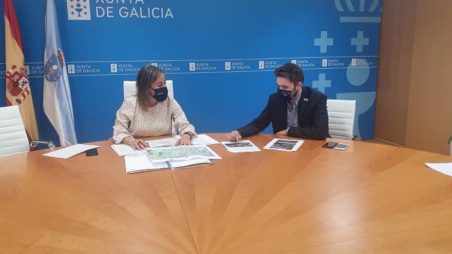 Acuerdo para reducir, en Catoira, la peligrosidad de la carretera Vilagarcía-Pontecesures