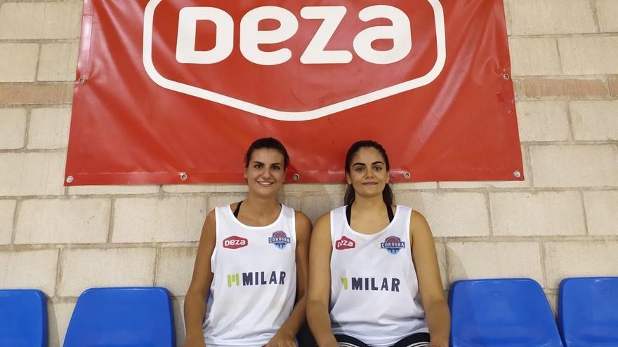 Las canteranas Nerea Zea y Luz Marina Montilla promocionan al Milar Córdoba BF