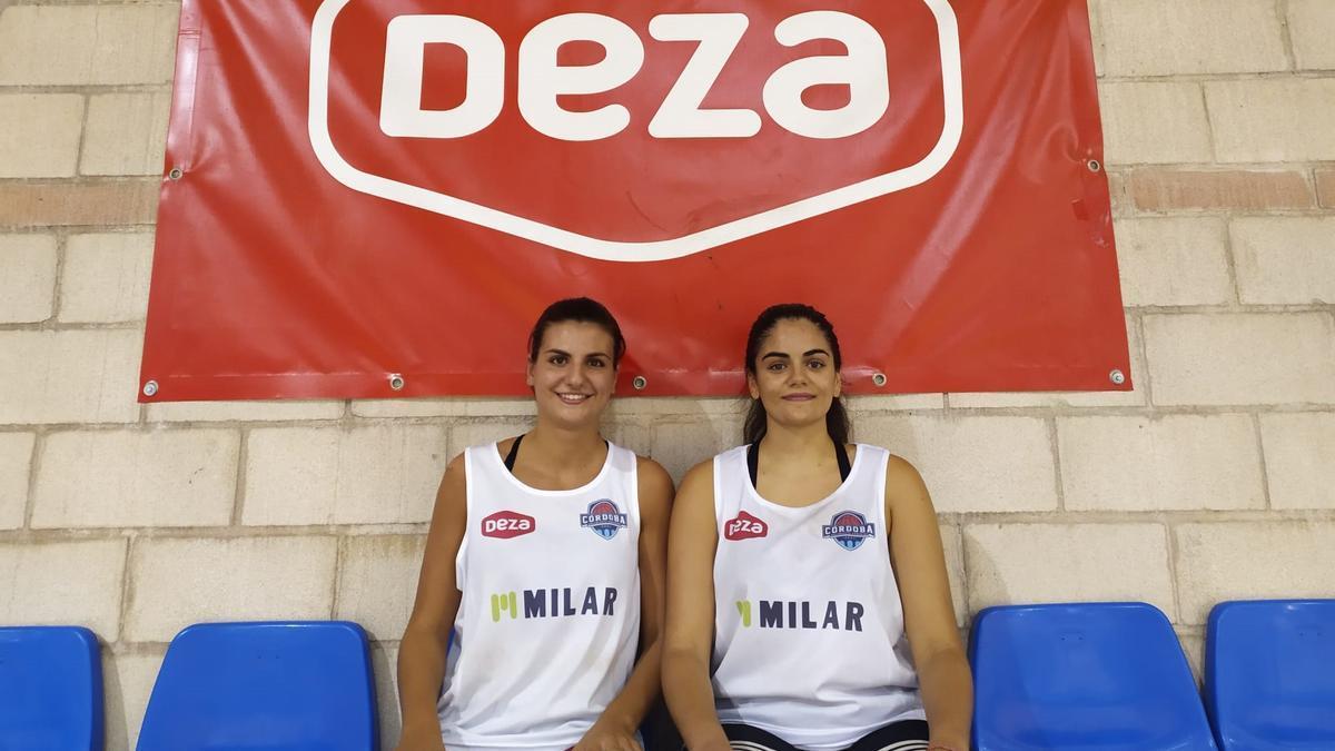 Luz Marina y Nerea Zea, nuevas incorporaciones del primer equipo del Milar Córdoba BF.