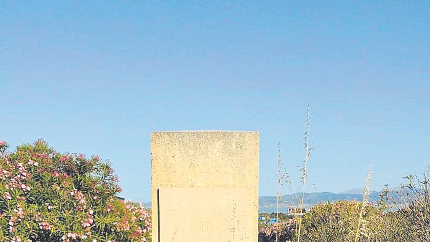 Extraoficial | El monolito clandestino dedicado a Jaume Matas