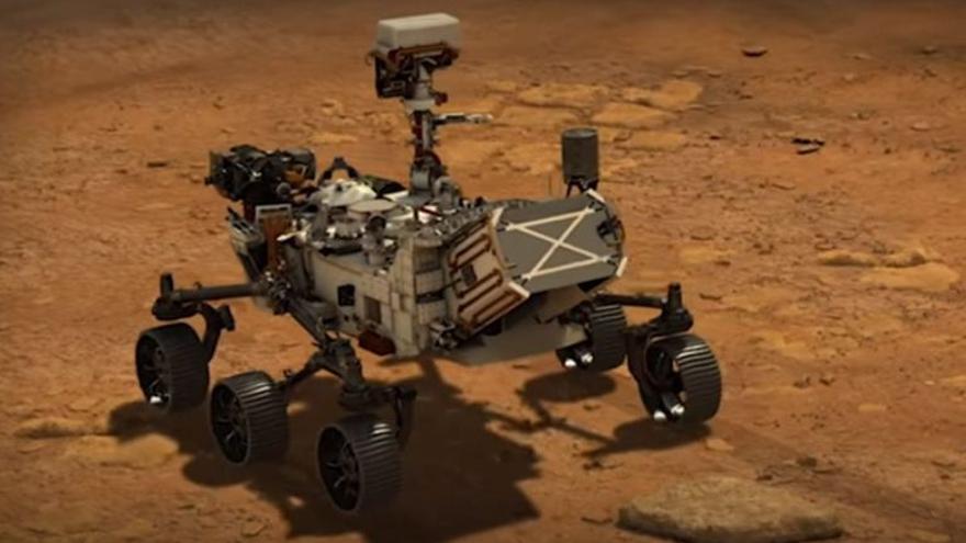 La NASA bautiza con el nombre de Timanfaya a la zona de Marte donde aterrizará el robot Perseverance