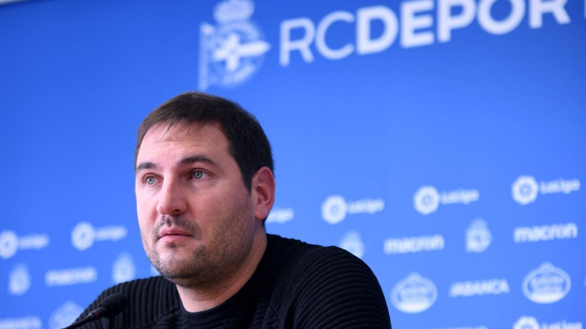 Manu Sánchez, extécnico del Deportivo Abanca