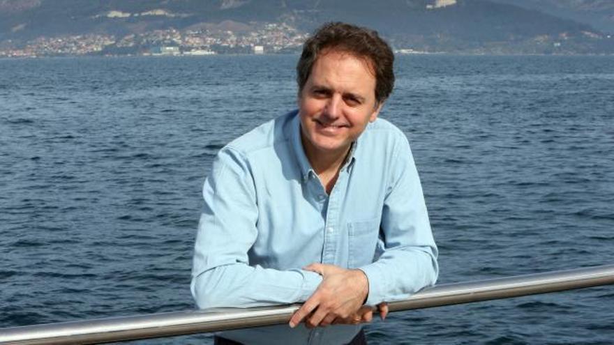 """Domingo Villar: """"Vigo es mi paraíso perdido"""""""