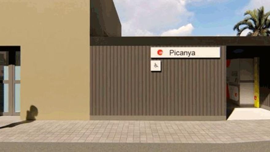 La Generalitat remodelará la estación de Picanya de Metrovalencia