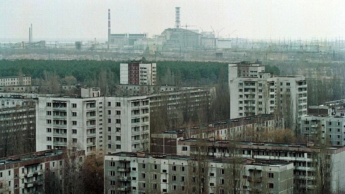 Imatge d'arxiu de la zona d'exclusió de Txernòbil.