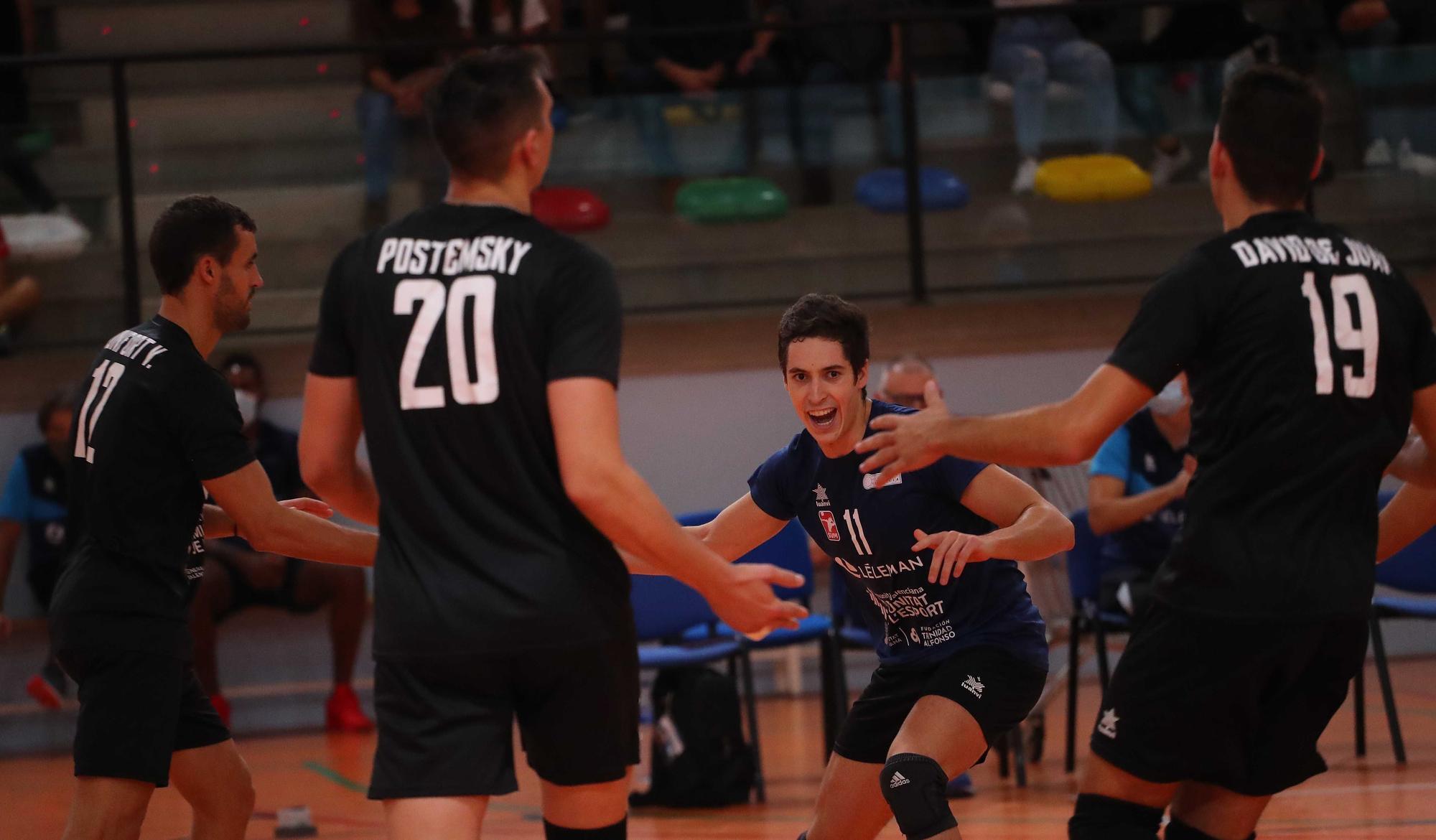 Partido de Voleibol entre Leleman Valencia Voleibol y el Teruel voleibol