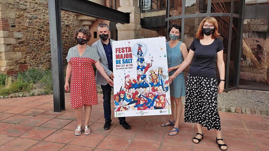 El cartell de la festa major 2021 és obra de l'artista olotina Rosa Matas