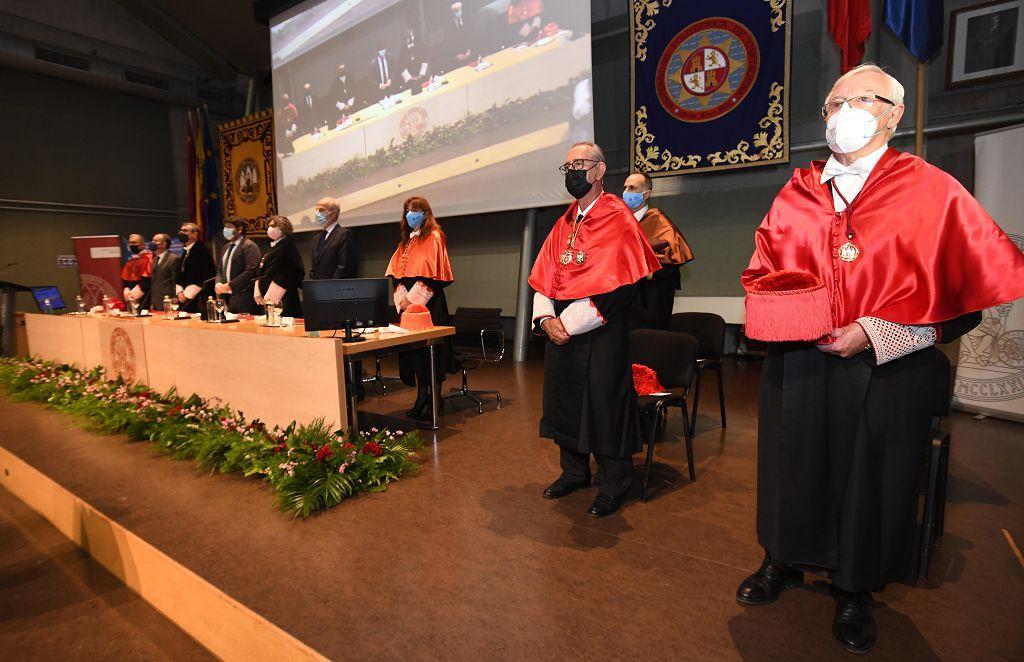 La UMU celebra oficialmente la apertura del curso 2021-2022