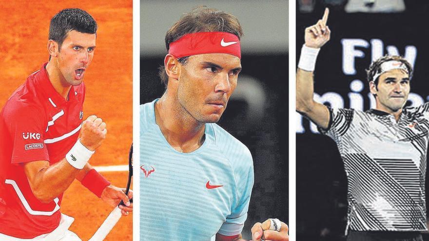 Los dueños del Grand Slam