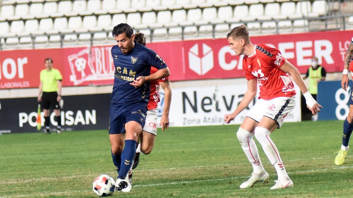 Imagen del Real Murcia-UCAM Murcia de la primera vuelta