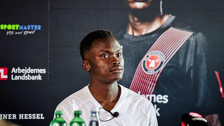 Pione Sisto ya ejerce como jugador del Midtjylland