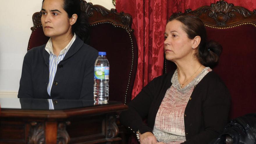 La madre e hija condenadas por asesinar a Isabel Carrasco en León esperan su traslado a la cárcel de Asturias