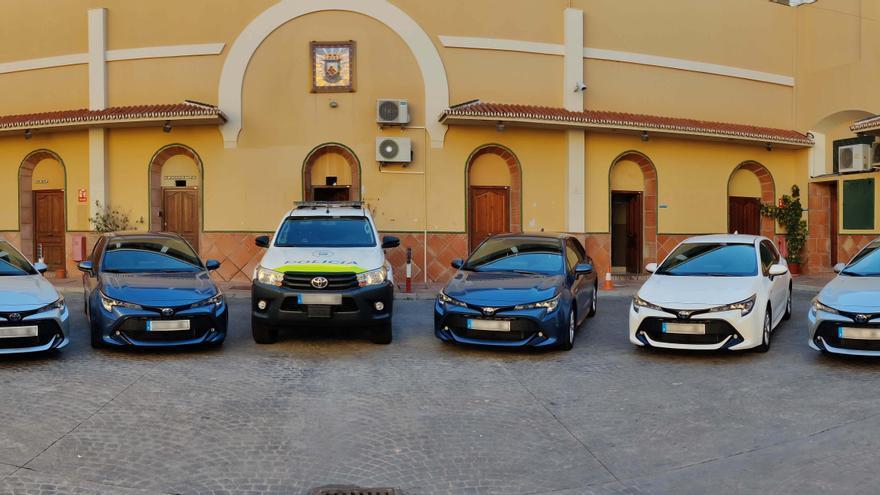 La Policía Local de Málaga estrena media docena de unidades móviles