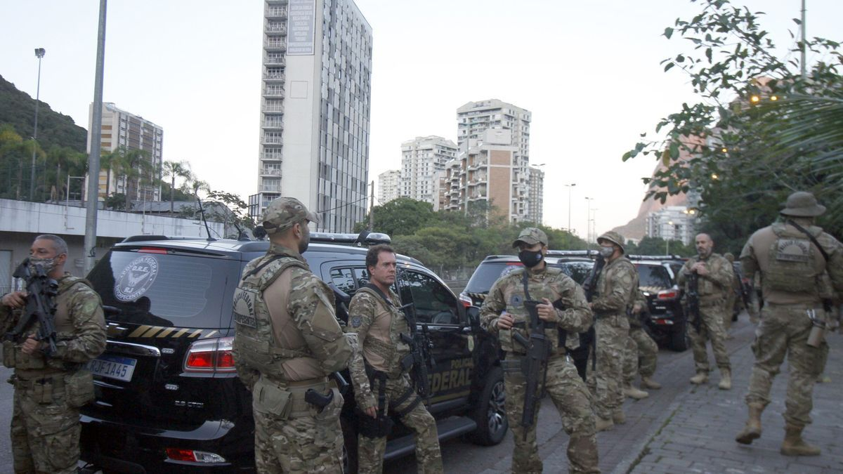 Policía Federal brasileña.