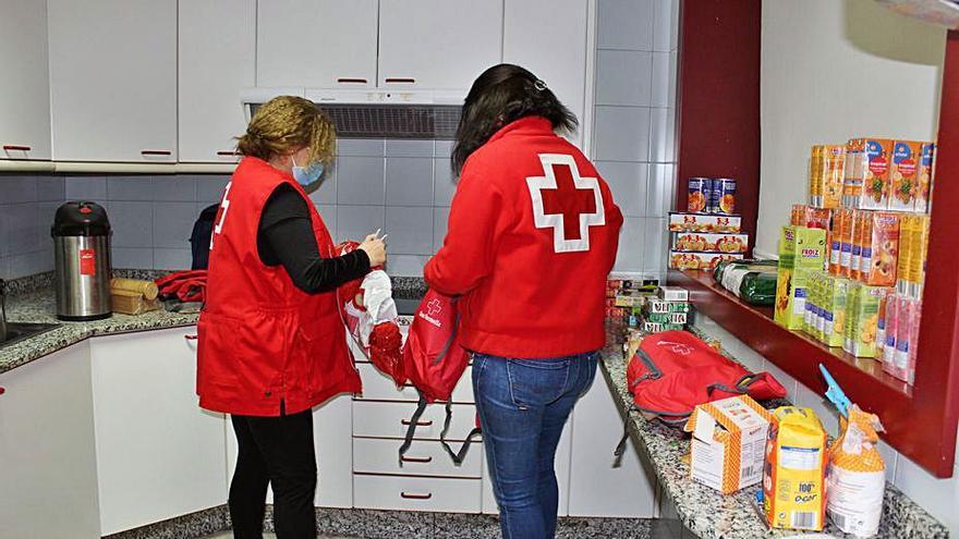 Cruz Roja distribuirá 120 toneladas de alimentos que beneficiarán a 5.000 personas