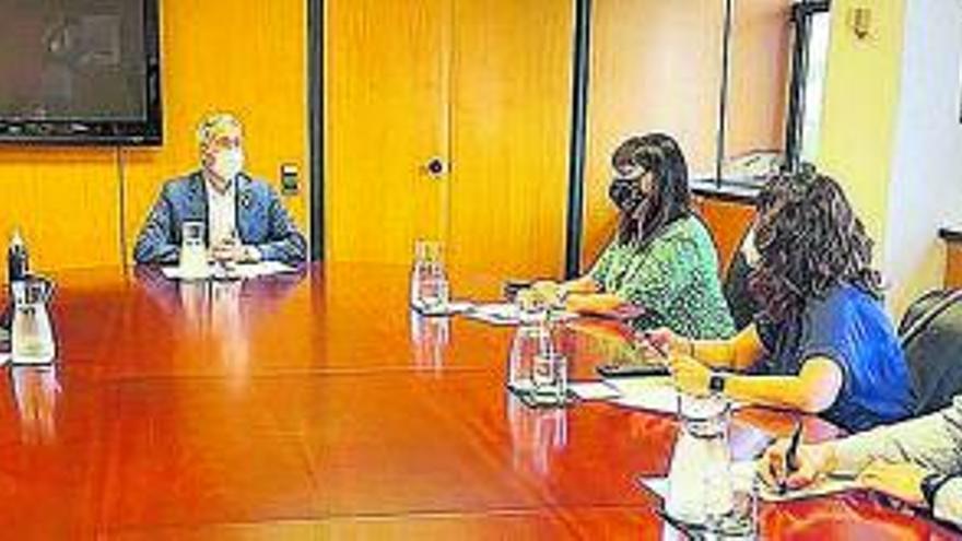L'alcalde de Súria participa en una trobada amb la ministra d'Educació i Formació Professional