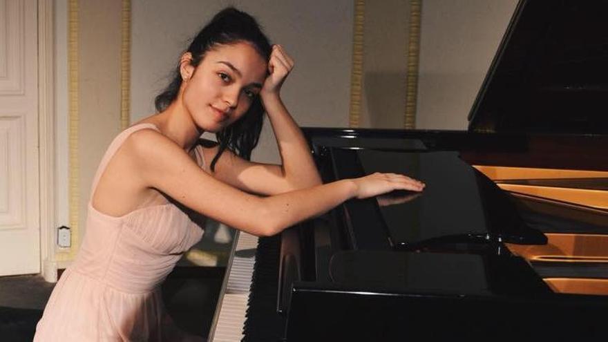 La pianista Emma Stratton, en una imatge del 2018
